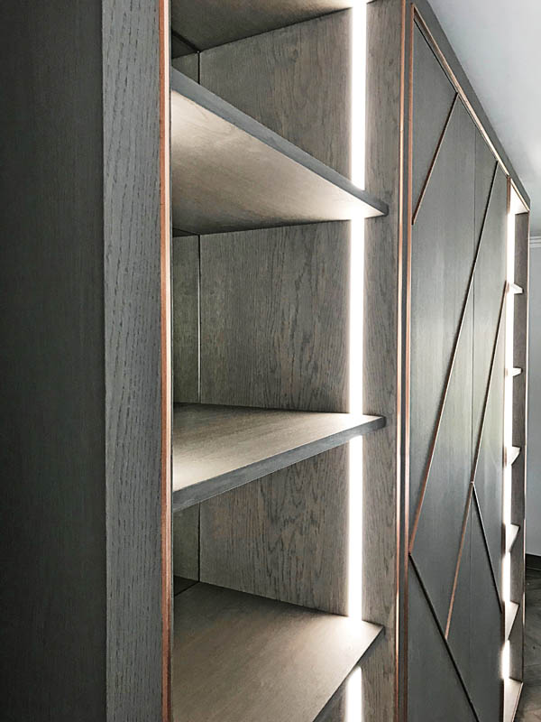 Bespoke Lounge Storage Dorset